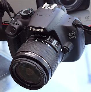 Jual Kamera Canon Eos 1200D Fullset SC 9 Ribuan