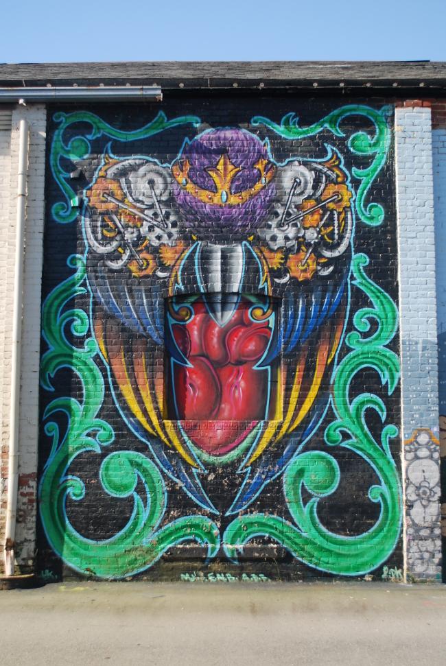 RVA Street Art: The GRTC Bus Depot (Part II) | Yeti Crafts