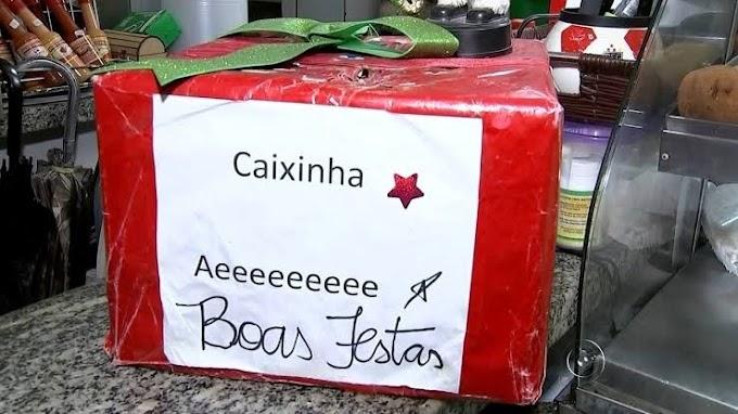 BOM DIA! CAIXINHA DE BOAS FESTAS.,CHEGOU