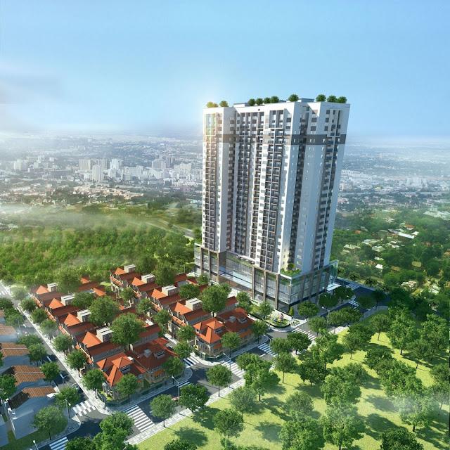 Phối cảnh dự án Thanh Xuân Complex
