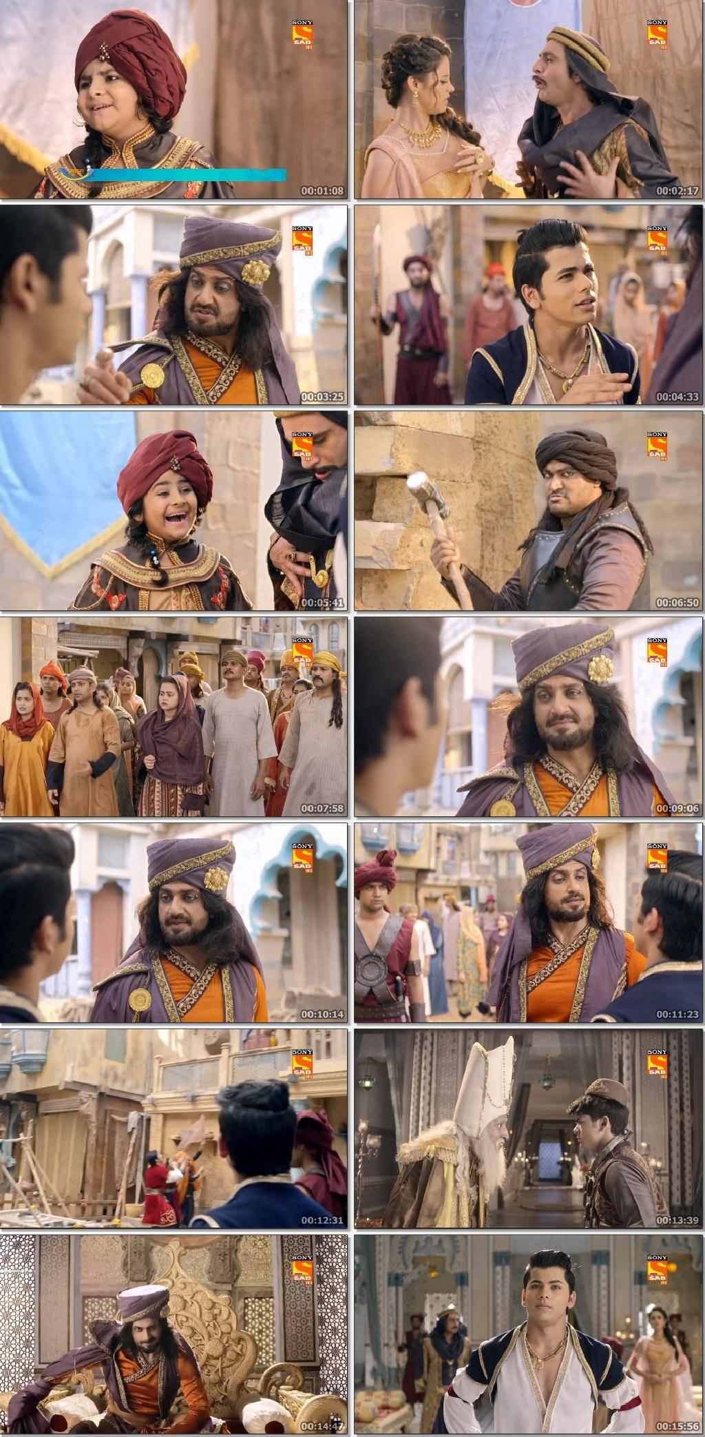 Screenshots Of Hindi Show Aladdin – Naam Toh Suna Hoga 2019 Episode 220 300MB 720P HD