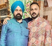 anmol preet singh with her father