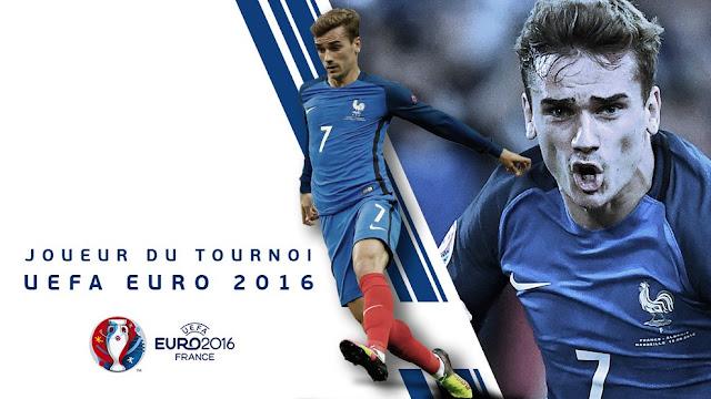 MVP του Euro 2016 ο Antoine Griezmann
