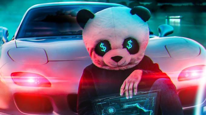 Papel de Parede Anonimo Panda