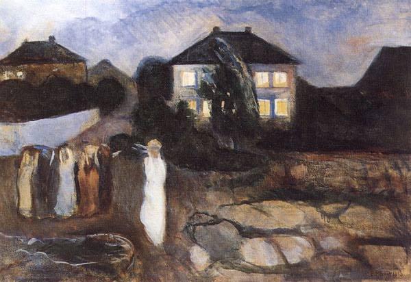 Эдвард Мунк - Буря. 1893