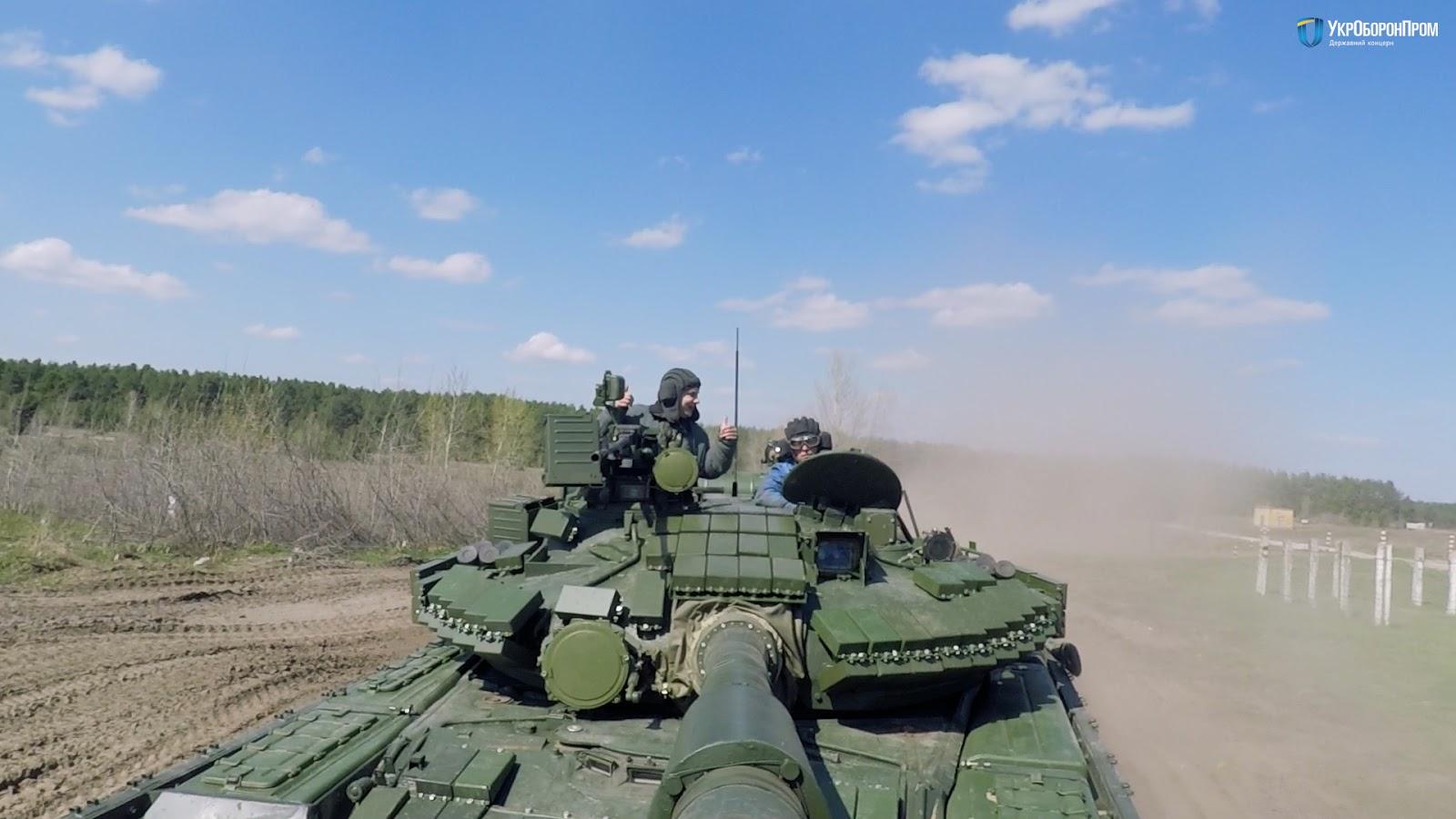 Ukrainian Military Pages - ХБТЗ підготував для десантників чергову партію танків Т-80