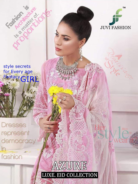 juvi fashion Azure pakistani suits Luxury Collection
