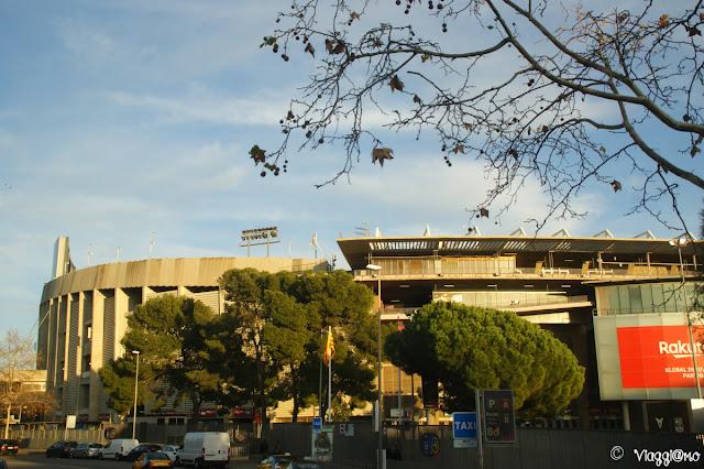 Lo Stadio del Fc Barcellona