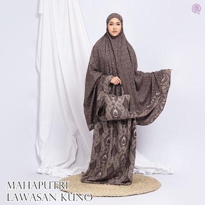 Mukena Mahaputri Lawasan Kuno Motif 02 By Grosir Mukena Jogja - WA 083840666699