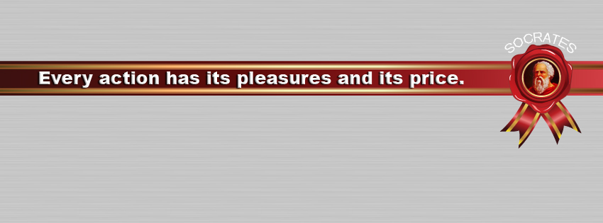 Quotes of Socrates Facebook Cover