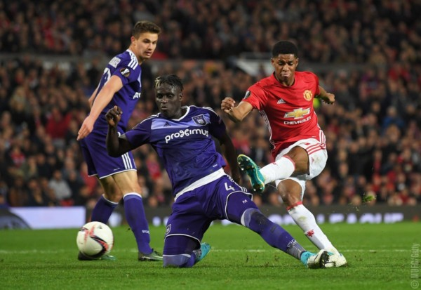 Manchester United reaches Europa League Semi Finals after extra-time Victory against Anderlecht