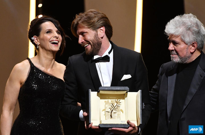 THE SQUARE premio Plama de oro Cannes 2017 - Ruben Östlund, Juliette Binoche y Pedro Almodovar