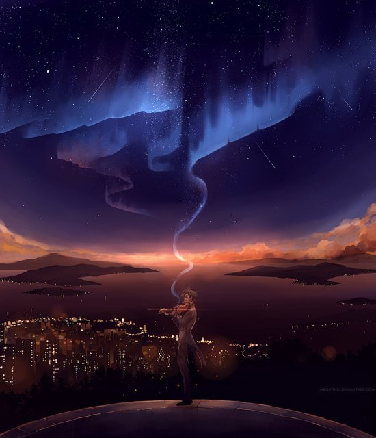 Niken Anindita deviantart arte ilustrações surreais fantasia líricas oníricas sonhos emotivos