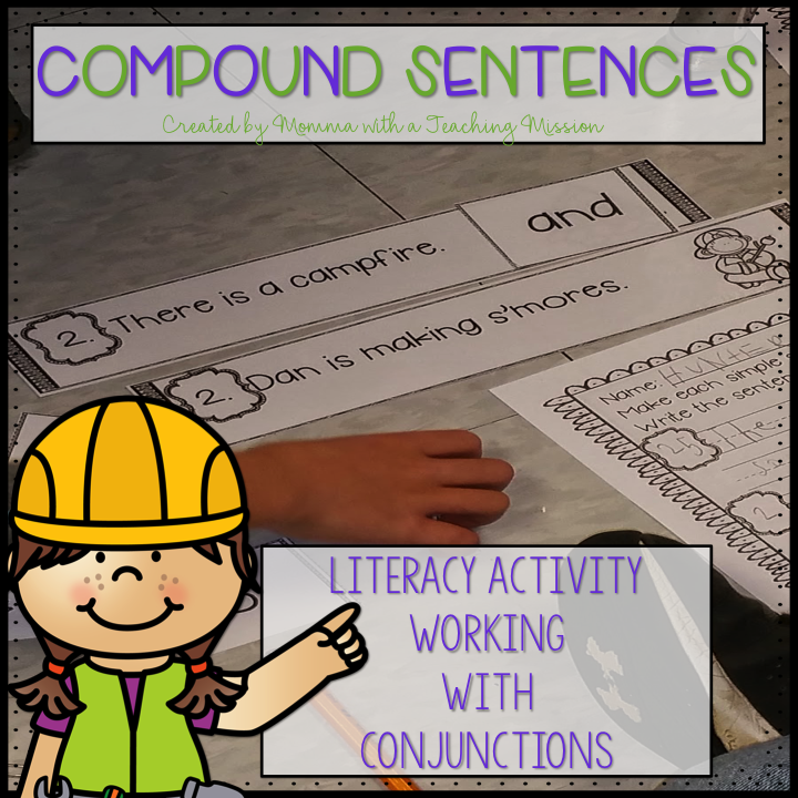 https://www.teacherspayteachers.com/Product/Conjunctions-Creating-Compound-Sentences-Literacy-Center-L11-1558364