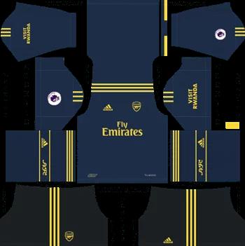 Download Kit DLS Arsenal Third 2019 - 2020