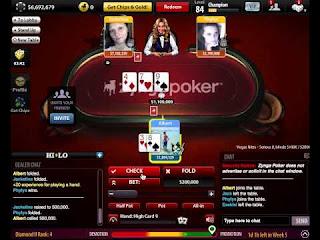 Dapatkan Chip Zynga Poker Facebook Murah