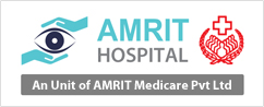 Amrit Hospital LOgo