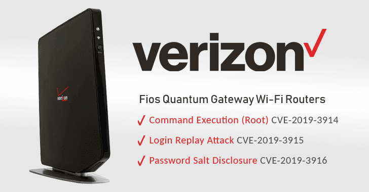 Researcher Reveals Multiple Flaws in Verizon Fios Routers — PoC Released