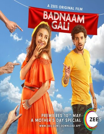 Badnaam Gali (2019) Hindi 720p HDRip x264 750MB Movie Download