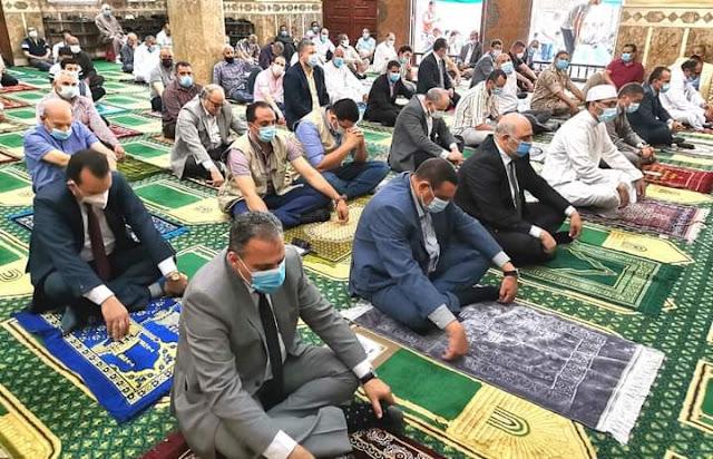 محافظ البحيرة..إفتتاح ٩ مساجد جديدة بتكلفة ٢٠ مليون و٣٢٠ ألف جنية بنطاق ٤ مراكز بالبحيرة.