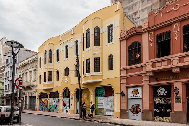 Edifício Guilherme Weiss, uma Unidade de Interesse de Preservação na Rua Riachuelo