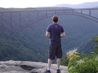 DSC02838 - Traveling West Virginia - Hawks Nest - New River Gorge Trail