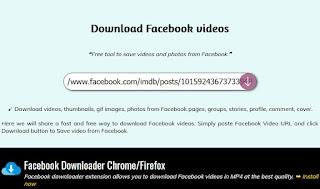 Descarca GIF si Video de pe Facebook