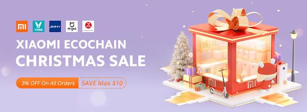 Promoção de Natal da Xiaomi na Geekbuying