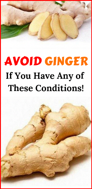 Don't Use Or Ingest Ginger If You Have Any of These Four Conditions