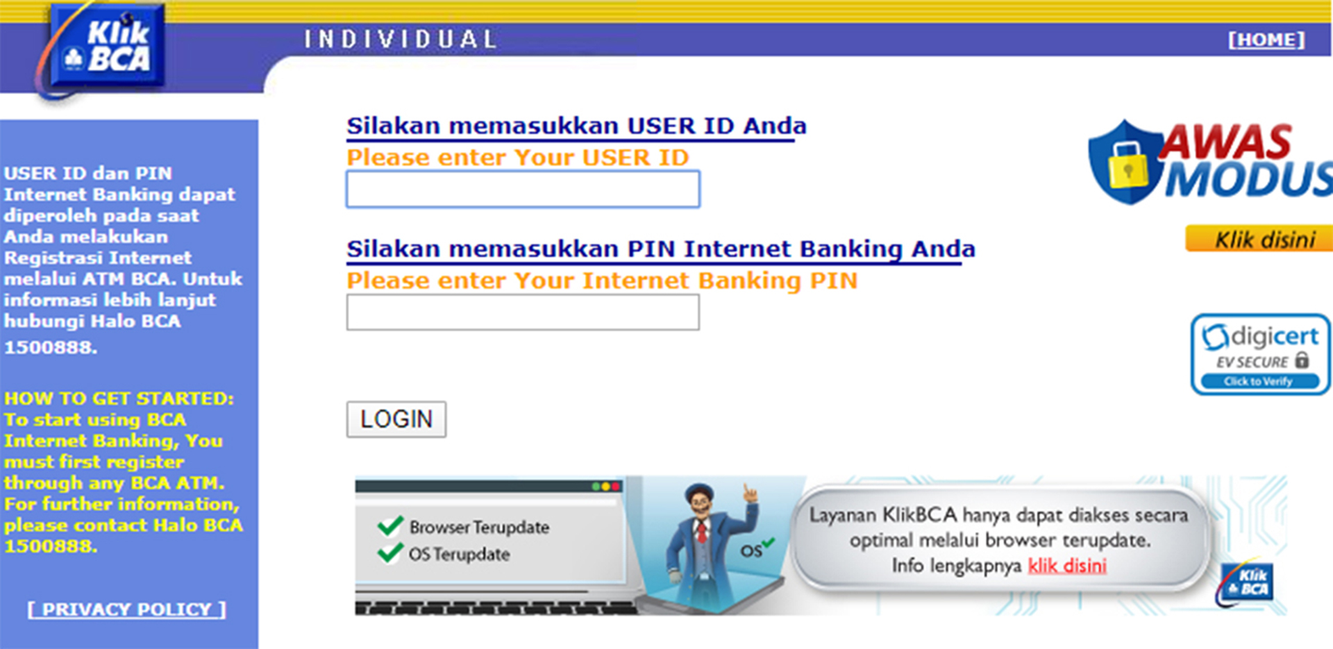 Cara Buat Internet Banking dan Akitvasinya