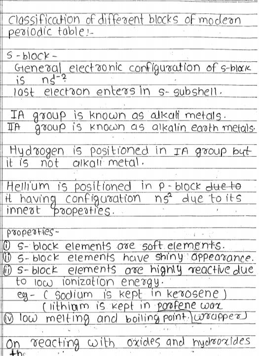 [PDF] Inorganic Chemistry Handwritten Notes For IIT JEE