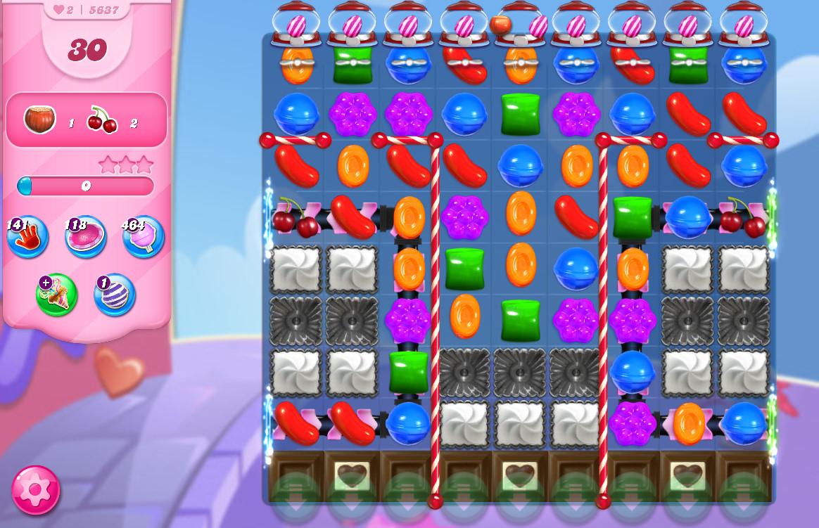 Candy Crush Saga level 5637