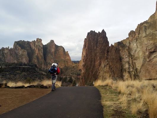 Packrafting at Smith Rock on the Crooked River