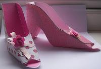 Zapato de papel.