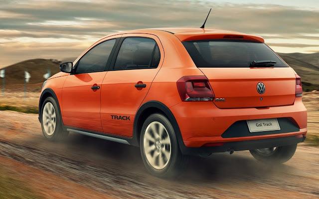 Novo VW Gol 2017 Track