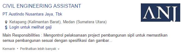 Lowongan Kerja Kabupaten Sambas Terbaru 2019
