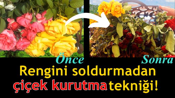 Çiçek kurutma nasıl yapılır? Çiçek kurutma yöntemleri