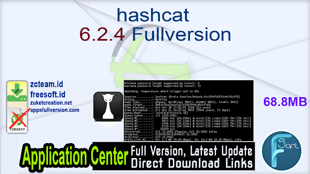 hashcat 6.2.4 Fullversion