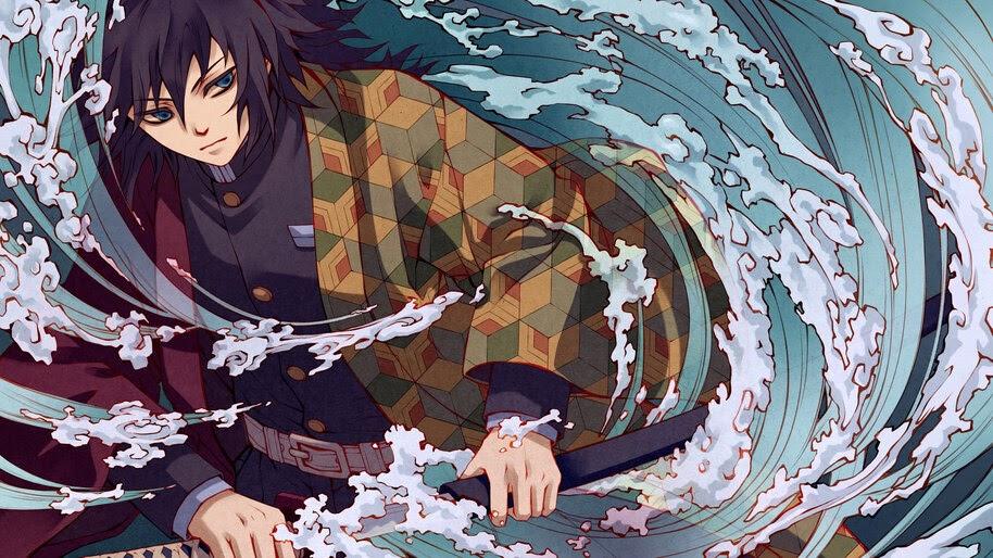 Browse millions of popular naruto wallpapers and ringtones on zedge and. Giyu Tomioka, Demon Slayer, Water Hashira, 4K, #6.3058 ...
