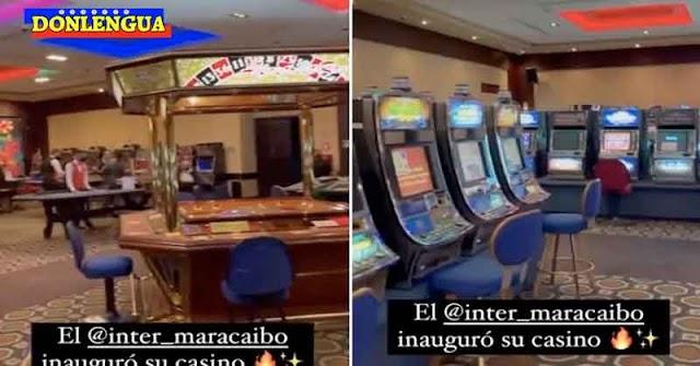 Inauguran Casino en un hotel de Maracaibo para que los delincuentes puedan lavar sus dólares
