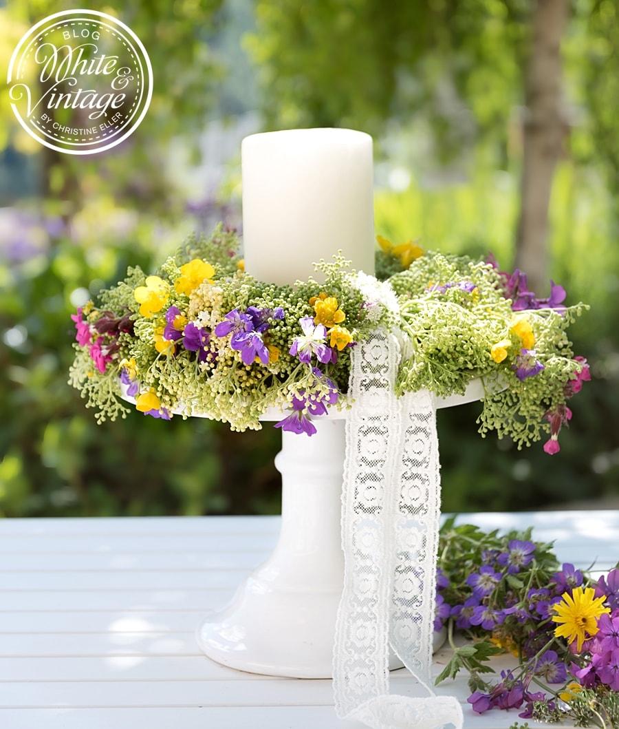 Blumendeko selber machen