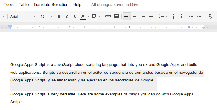 G Suite Developers Blog: Introducing Google Docs Cursor/Selection ...