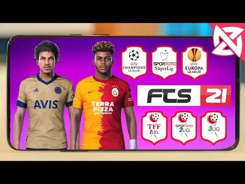 FTS 21 Süper Lig Modu - Güncel Kadro Ligler