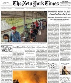 The New York Times Magazine 7 September 2021