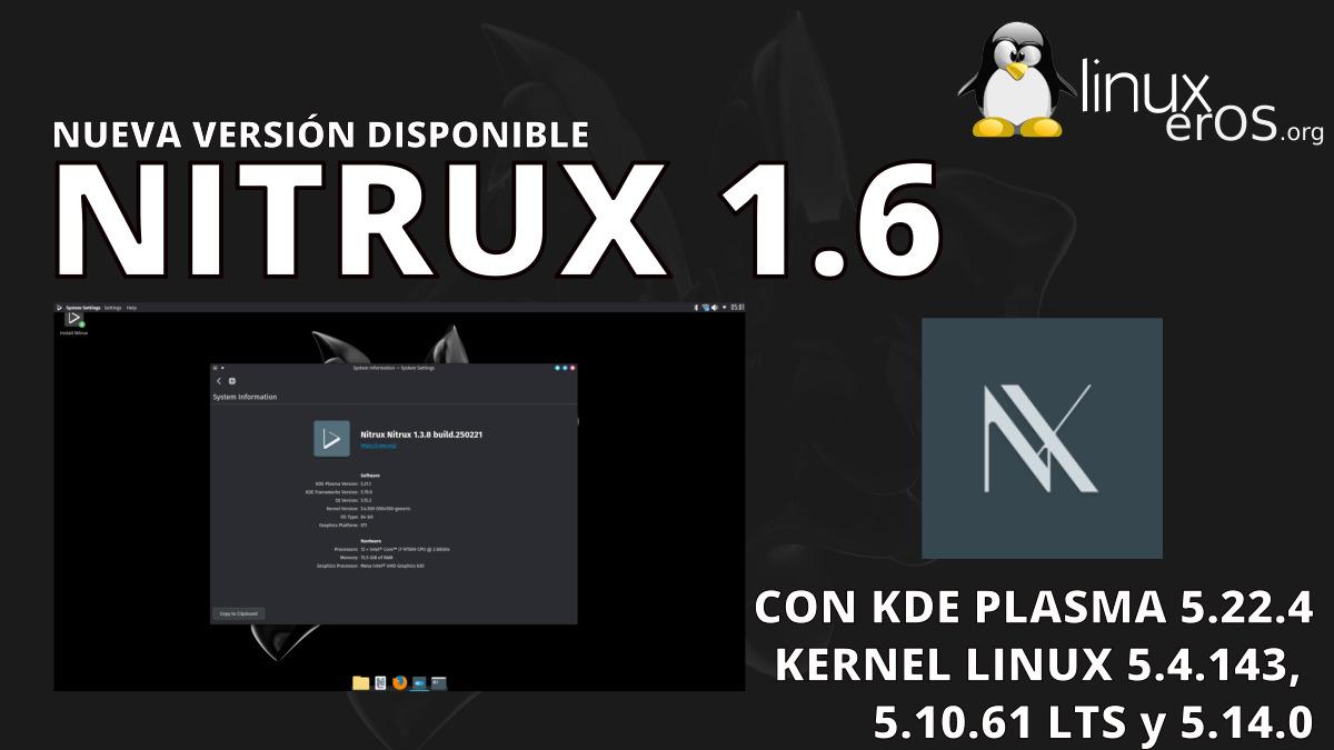 Nitrux 1.6 lanzado oficialmente con tienda de AppImage y más