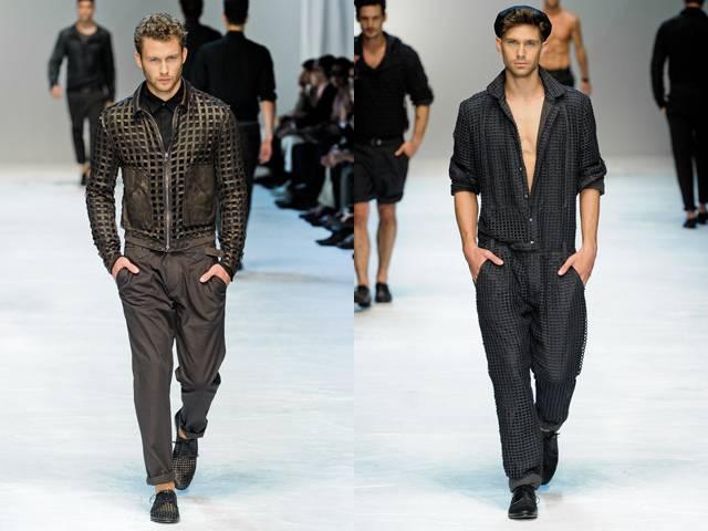 49c2918c15f96 Moda e Vida  Desfile Dolce   Gabbana Semana de Moda Masculina de Milão -  Primavera Verão 2012 2013
