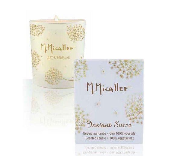 Bougie Instant Sucré Parfum Maison Micallef