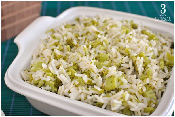 arroz brócolis como fazer