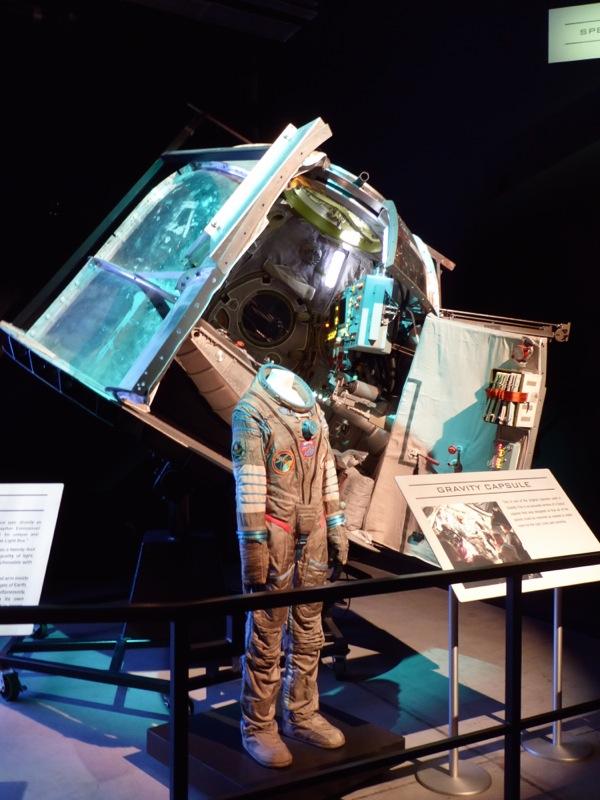 Gravity Sokol pressure suit Soyuz capsule