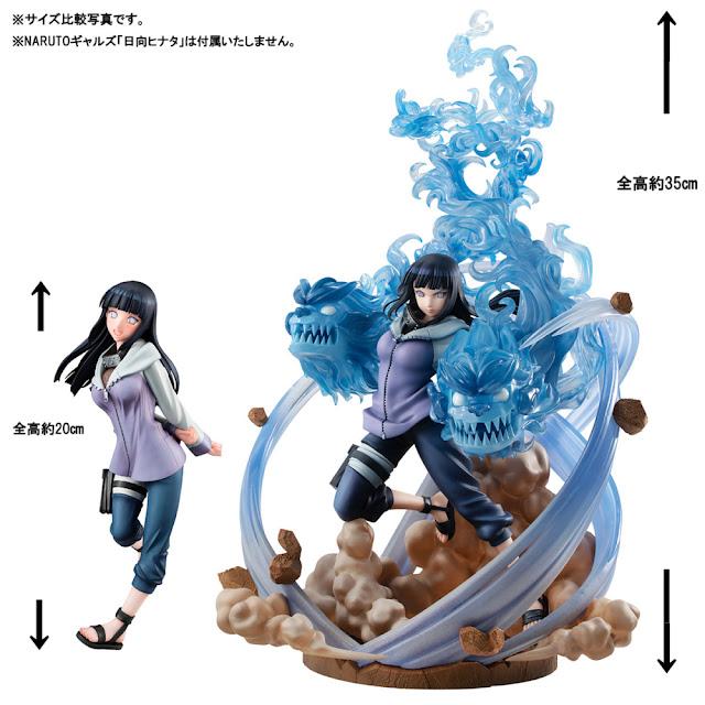 Naruto Gals DX Hinata Hyuuga ver. 3 de Naruto Shippuden - MegaHouse